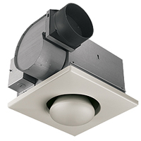 BROAN 162 SGL BULB HEAT/FAN Product Image