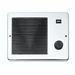 Broan 174 - White Comfort-Flo Wall Heater, 750/1500W 120Vac
