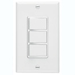Broan 66W - White Finish 3 Function Wall Control