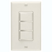 Broan 66V - Ivory Finish 3 Function Wall Control