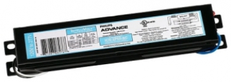 "Philips Advance ICN2S110SC35I Standard Rapid Start Electronic Ballast. For 1 or 2-Lamp F96T12/HO (95w), F96T12/HO(110w) Fluorescent 120/277v. Dimensions: 9.5""L, 1.7""W, 1.18"" ht."