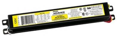 "Philips Advance ICN2P60SC35I Centium Instant Start Electronic Ballast. For 1 or 2-Lamp F72T12(55w), F96T12/ES(60w), F96T12 (75w) Fluorescent 120/277v. Dimensions: 9.5""L, 1.7""W, 1.18"" ht."