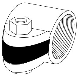 APPLETON SCC-100 1-IN SPLIT COND COUPLING