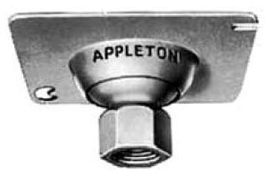 "APPLETON 8458R 4"" SQ 1/2"" SWIVEL COVER"