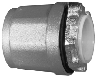 "Appleton HUB-125 1-1/4"" Zinc Conduit Hub"
