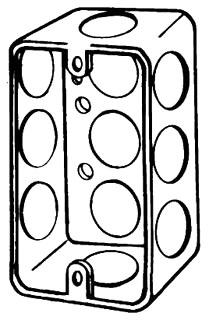 EGS 4CSL-1/2 4X1-1/4D HANDYBOX