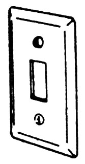 EGS 2594 RAISED HANDYBOX SW CVR (#603694)