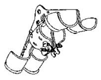 APPLETON BD-1D BUS DROP CABLE CLAMP