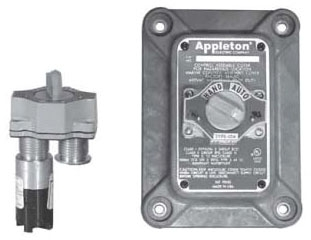 APPLETON N1K12 2POS SELECT SW COVER