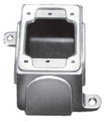 APPLETON FDB-1L-A 1G ALUM FD BOX W/LUGS