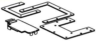 BLINE 6644-12LR WIREWAY REDUCER Product Image