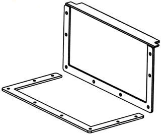 BLINE 44-12LCP CLOSURE PLATE Product Image