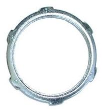 """Bridgeport 101-S 1/2"""" Steel Locknut for Rigid/IMC Conduit"""