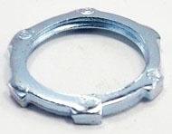 """Bridgeport 102-S 3/4"""" Steel Locknut for Rigid/IMC Conduit"""