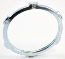 """Bridgeport 106-S 2"""" Steel Locknut for Rigid/IMC Conduit"""