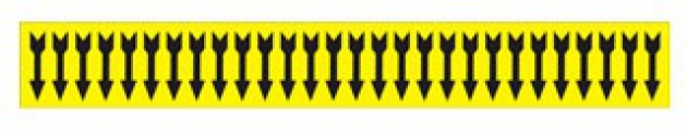 BRADY 91883 SEMICONDUCTOR & CHEMICAL PIPE MARKERS