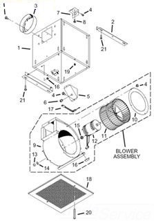 Broan-Nutone Housing Products Broan-Nutone S99080485 Motor at Sears.com