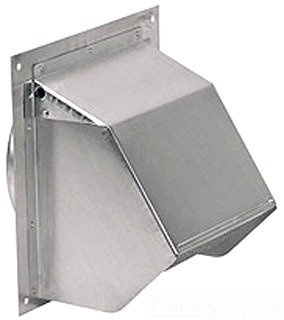 Broan-Nutone Housing Products Broan-Nutone 649 Wall Cap For 10-In Duct at Sears.com