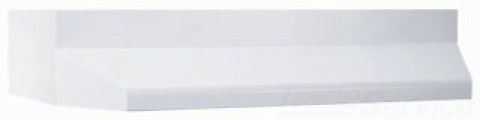 BROAN 372401 24-IN WHITE HOOD SHELL Product Image