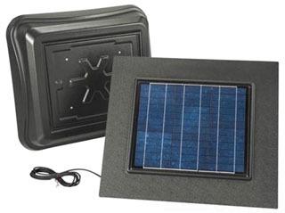 BROAN 345RSOWW SOLAR PAV, WITH WEATHERED WOOD DOME AND WEATHERED WOOD REMOTE SOLAR PANEL Product Image
