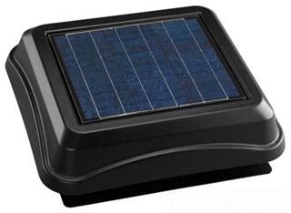 BROAN 345SOBK SOLAR PAV, SURFACE MOUNT WITH BLACK DOME Product Image