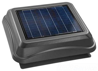 BROAN 345SOWW SOLAR PAV, SURFACE MOUNT WITH WEATHERED WOOD DOME Product Image