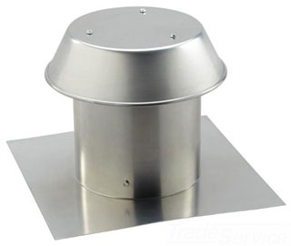 Broan-Nutone Housing Products Broan-Nutone 611 8-In Al Flat Roof Cap at Sears.com