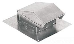 Broan-Nutone Housing Products Broan-Nutone 636 Roof Cap W/Damper&Screen at Sears.com