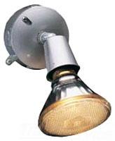 BWF 93101AB-1 RND 1 LAMP BRZ FLDLTE