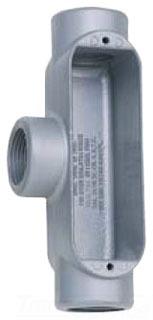 """BWF 701V 3/4"""" Aluminum Type T Conduit Body for Rigid/IMC Conduit"""