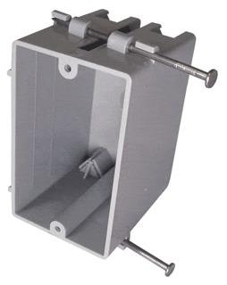 CANTEX EZ18SN 1G NAIL-ON PLSTC BOX Product Image