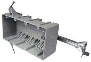 CTX EZ55QNB 4G NAIL-ON (DNR) PLSTC BOX