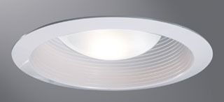 Cooper Lighting Incandescent/Fluorescent/Hid/Emergency Halo Ert513Wht 5In Wht Bfl Trim at Sears.com