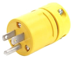 Woodhead 1447 Super Safeway Plug Nema 5 15 15a 125v