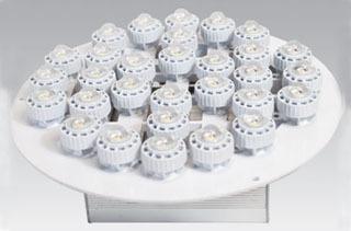 EIKO C0820-LP1-50W-27K-N40-W-D-U LED LIGHT PLATE DOWNLIGHT FIXTU