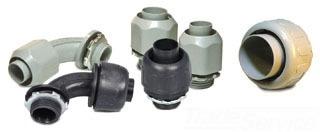 E-FLEX NMLT23 1IN BLACK PVC 90D CONN Product Image