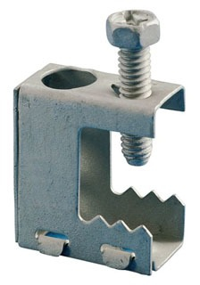"Erico BC Beam Clamp thru 1/2"" flange static load limit 100 lbs"
