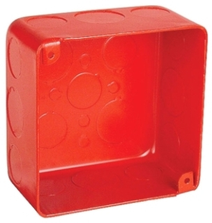 GARVIN 52171-SVTRED 2-1/8DP 4IN SQ BX Product Image