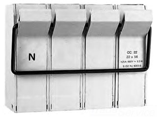 Mersen (Formerly Ferraz Shawmut Inc) Mersen Ferraz 23618-G 125A 660V Fuse Base at Sears.com