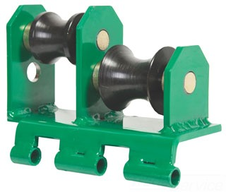 Greenlee 13861 Roller Support Unit Gordon Electric