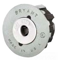 BRYANT 610S 1PIN SNAP IN FLUOR SKT
