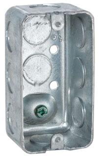 RACO 611 1-7/8D HANDYBOX W/GRND SCR