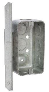 RACO 661 1-7/8D HANDYBOX W/ANG BRKT