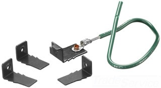 HUBBELL S1FBCLIP5PK 1 FLR BOX CVR CLIP
