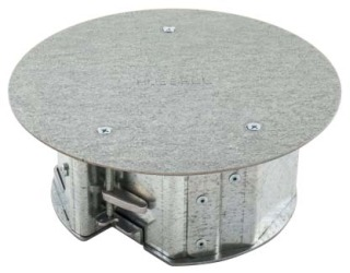 HUBBELL AFBS1R6BASE FLOOR BOX Product Image