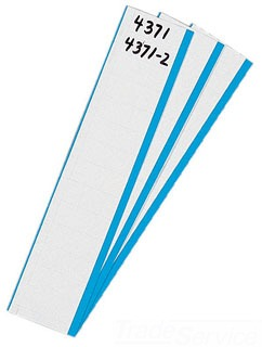 IDEAL 44-753 5/8W BLANK MARKER CARD