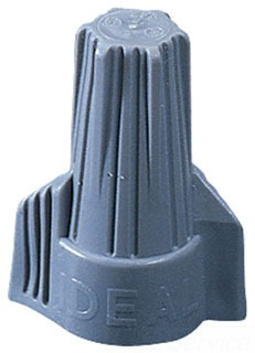 IDEAL INDUSTRIES INC Ideal 30-642 Gry Tw Wire Nut-250Bag at Sears.com