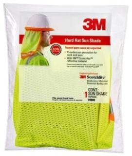 3M 94800-80030 HI-VIZ HARD HAT SUN SHADE YELLOW Product Image