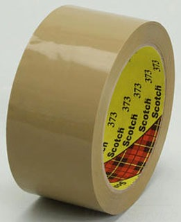 3M Electrical Market Adhesives/Bonding/Sealing 3M 373-Tan-48Mmx50M Box Seal Tape at Sears.com