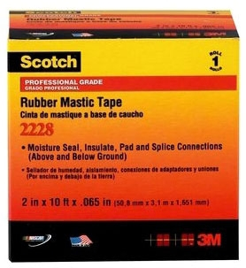 3M 2228-2X10FT RUB MASTIC TAPE
